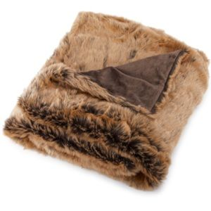 "New Guillaume 50"" x 60"" Exotic Faux Fur Throw"